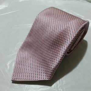 Brooks Brothers Makers Pink Blue Woven Tie